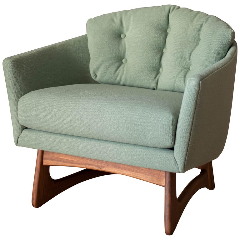 Mid Century Adrian Pearsall Tub Chair For