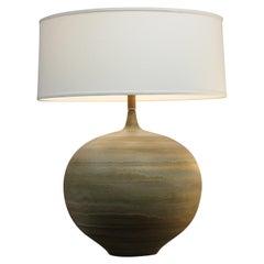 Ceramic Swirl Lamp