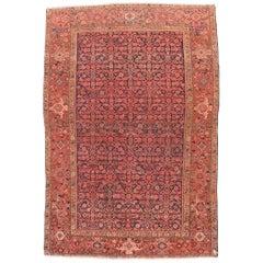 Antiker Handgefertigter Malayer Perserteppich