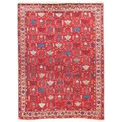Antiker handgefertigter Kashkaie / Quashquai persischer Teppich