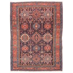 Antique Handmade Karajeh Persian Rug