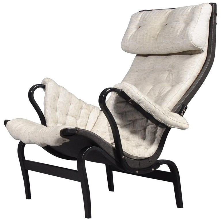Pernilla Lounge Chair by Bruno Mathsson for DUX, 1969s For Sale