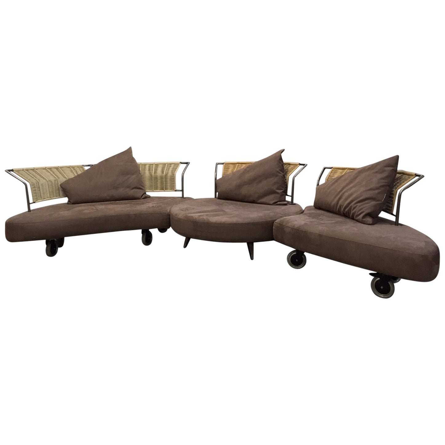 Fantasy Islands Movable Sofa, Sofa Bed by Kurt Beier, circa 1980s