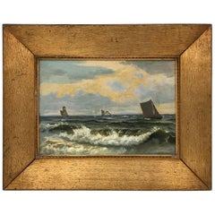 "Christian Frederik Emil Eckardt ""Sailing Ships,"" 1880s"