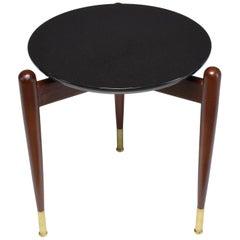 Italian Midcentury Marble Gueridon Table