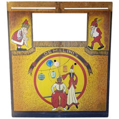 First Half of the 20th Century Large Size Dutch Hand Puppet Theatre