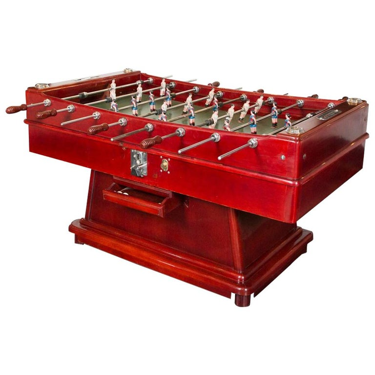 "Foosball ""Cordoba"" Football Table, 1970s, Spanish, Barcelona Vs Real Madrid For Sale"