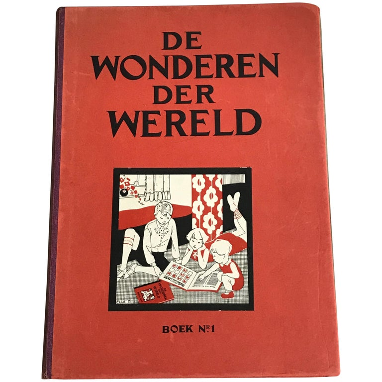 """""""Wonders of The World"""" Belgian Book of Prints, Birds, Ethnographic, Insects For Sale"""