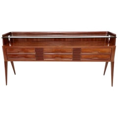 High-Quality Wooden Dresser by La Permanente Mobili Cantù, Italy, 1950s