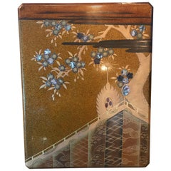 Large Antique Japanese Lacquer Box