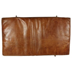 1950s Leather Gym Mat