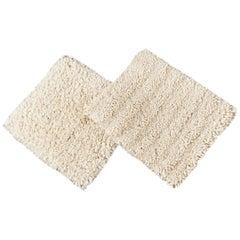 Textured Wool Custom Shag Rug