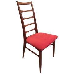 Set of 6 Teak Dining Chairs by Niels Koefoeds