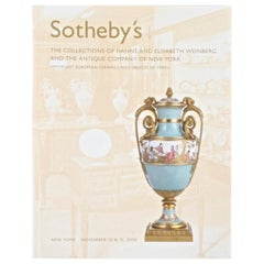 Sotheby's the Collections of Hanns and Elisabeth Weinberg & the Antique Company