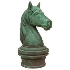 Bronze Horse Head from the Palace Hotel San Francisco