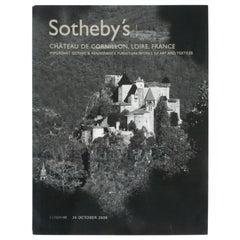 Sotheby's Chateau de Cornillon, Loire, France, October 2006