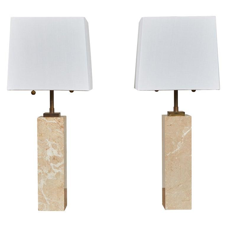 Pair of Robsjohn-Gibbings Table Lamps For Sale