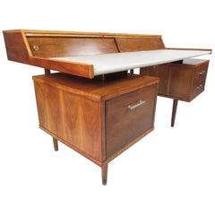 """Midcentury John Van Koert """"K80"""" Desk for Drexel"""