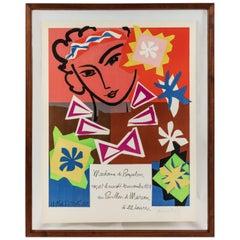 Madame Pompadour, vintage poster designed by Matisse