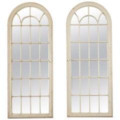 Antique Window Pane Mirrors