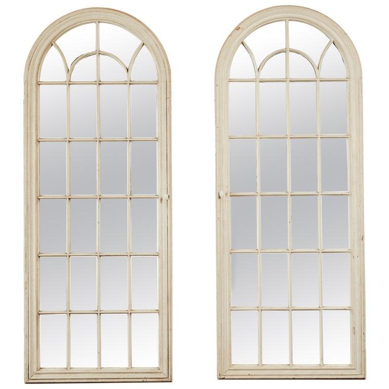 Antique Window Pane Mirrors For Sale