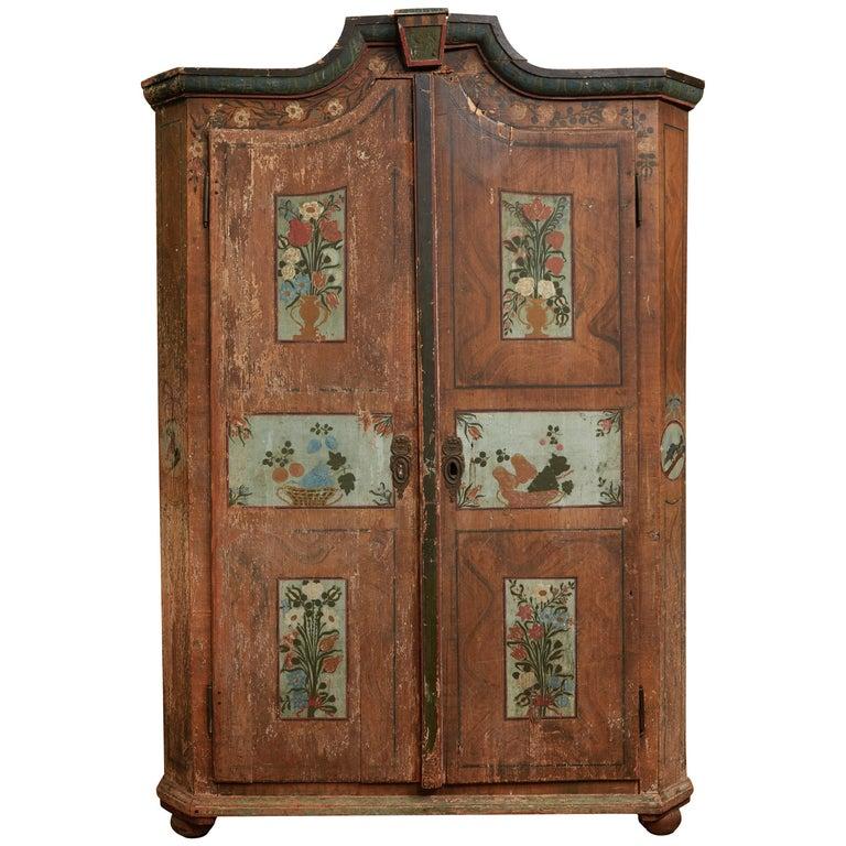 Antique Italian Armoire For Sale