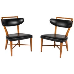 Pair of Pull Up Chairs