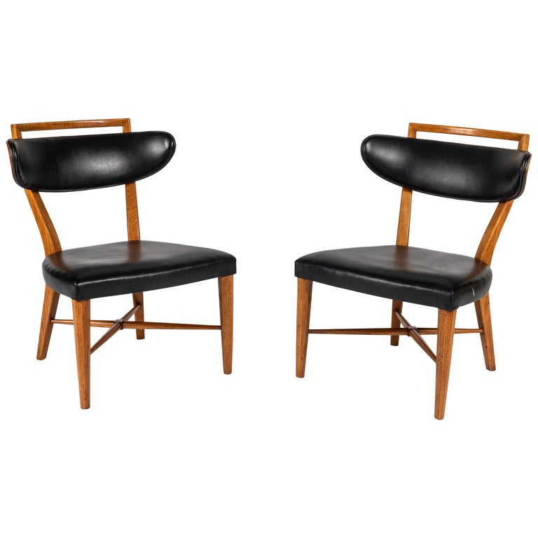 Pair of Pull Up Chairs For Sale