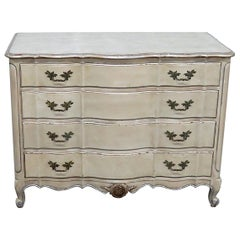 Antique Distressed Painted Dresser
