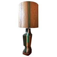 Marianna von Allesch Modern Ceramic Sculptural Lamp, Midcentury, Organic Modern