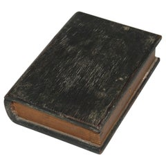 19th Century Rare Miniature Bible Box in Original Paint
