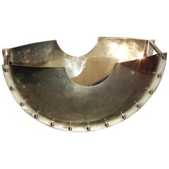 "Modern Italian Silverplate Centerpiece ""Dondolo"" by Giuliano Malimpensa for Mesa"