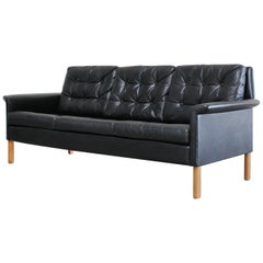 Kill International Ledersofa designet von Rudolf Glatzel, 1960er