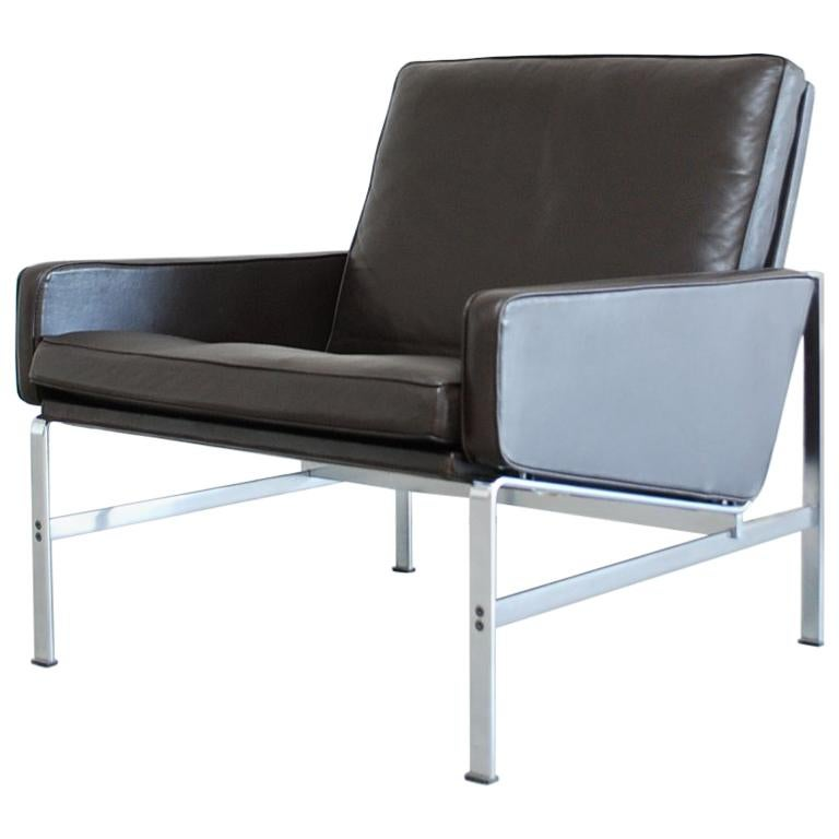 Kill International Model 6720 Lounge Chair Armchair by Kastholm & Fabricius For Sale