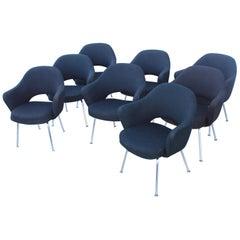 Acht Eero Saarinen Chefsessel