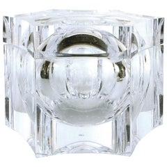 Overscale Lucite Ice Bucket by La Belle Creations of Italy