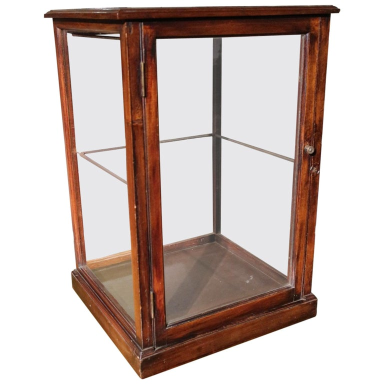 Display Kitchen Cabinets For Sale: Small Mahogany Display Cabinet For Sale At 1stdibs