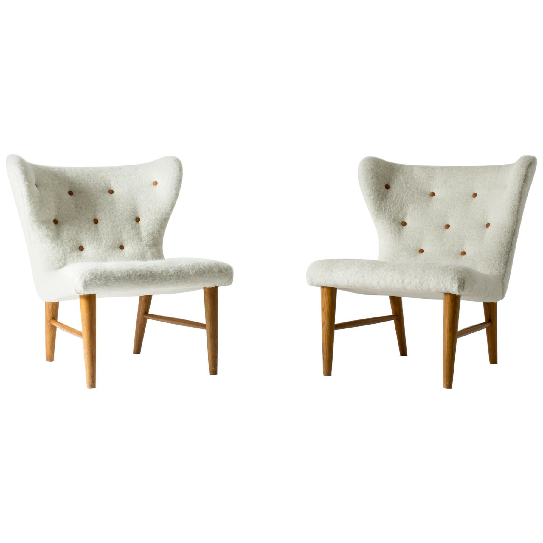 Pair of 1940s Lounge Chairs by Eric Karlén