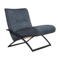 GHYCZY Chair Wave GP03 Charcoal Frame, W/04 Fabric, Grey Details