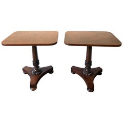 Small Pair of William IV Side Tables, circa 1835