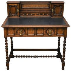 19th Century Shapland and Petter Oak Desk