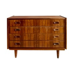 Midcentury Danish Rosewood Chest of Drawers