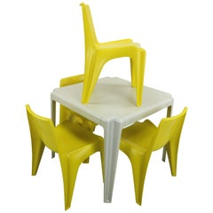 Dining Room or Garden Set by Helmit Bätzner for Bofinger, 1960s