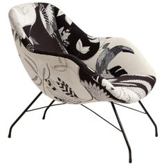 Chair by Martin Eisler and Carlo Hauner Exclusive Fabric by Manu Alves