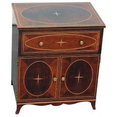 English Regency Style Mahogany Night Stand Commode