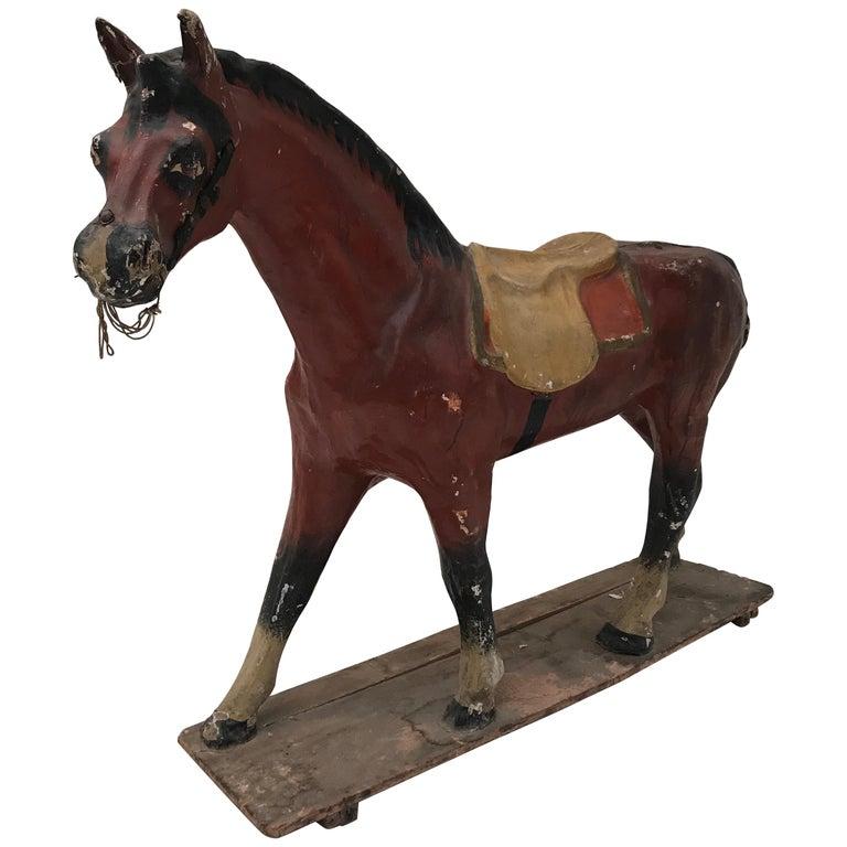 Papier Mâché Horse For Sale