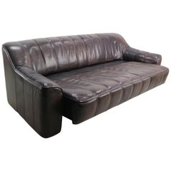 3-Seat Leather Sofa DS-44 from De Sede, 1970s