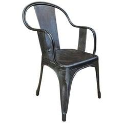 Tolix Metal Armchair, 1950s