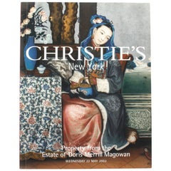 Christie's, Estate of Doris Merrill Magowan, May, 2002