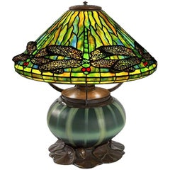 "Tiffany Studios New York ""Dragonfly"" Table Lamp"